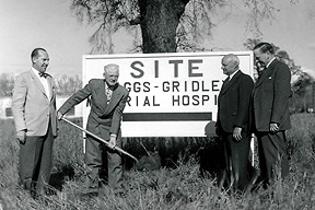Orchard Hospital history breaking ground for the hospital
